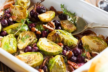 Healthy Roasted Brussels Sprouts bitter foods bitter vegetables
