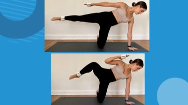 Move 5: Modified Side Plank With Leg Lift