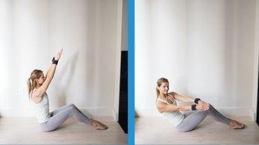 Move 3: Seated Oblique Twist