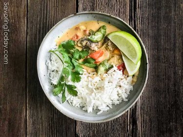 Vegetable Coconut Thai Curry