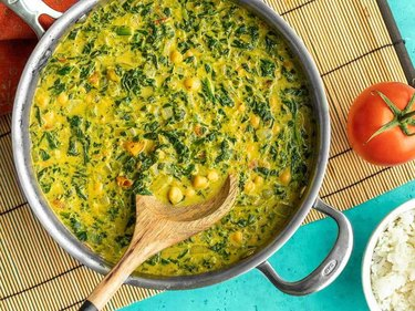 Chana Saag Curry