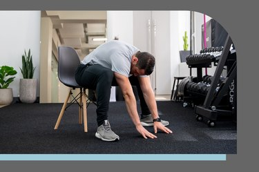 1. Seated Chair Stretch