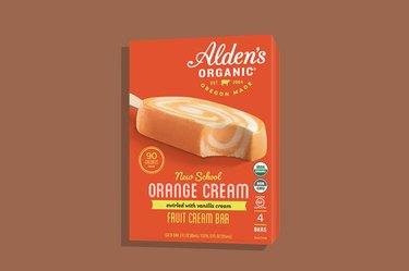 Alden's New School Orange Cream Bars