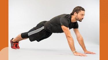 Upper-Body Move 1: Walking Plank