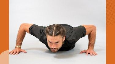 Upper-Body Move 2: Push-Up Crawl