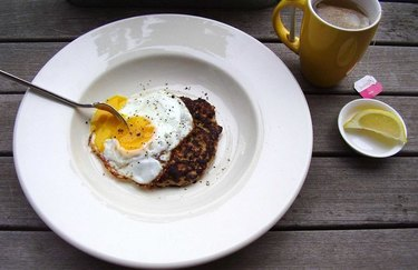 Sunny-Side-Up Breakfast Sausage