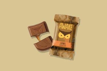 Awake Caffeinated Chocolate Energy Bites, Caramel