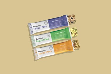 Tea Squares Caffeinated Energy Bites