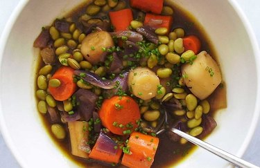 Saucy Braised Root Vegetable Entrée pumpkin spice recipes