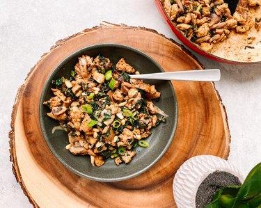Turkey, Kale and Tahini Dinner Bowl
