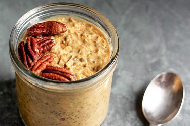 Pumpkin Pie Overnight Oats with Chia recipe
