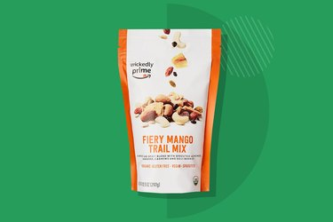A photo of Wickedly Prime Fiery Mango Organic Sprouted Trail Mix