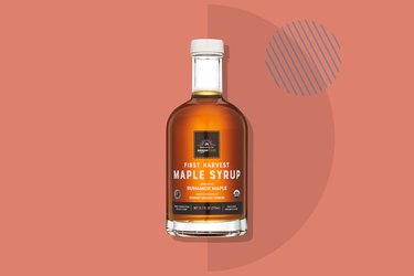 A photo of AmazonFresh Exclusive First Harvest Pure Vermont Maple Syrup