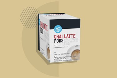 A photo of Happy Belly Chai Tea Latte Pods