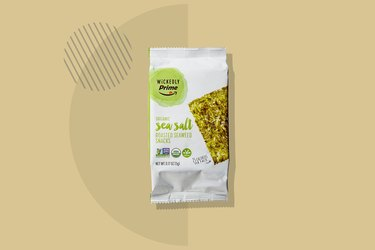 A photo of Wickedly Prime Organic Roasted Seaweed Snacks