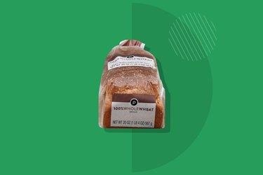 A photo of Publix Premium 100% Stoneground Whole Wheat Bread