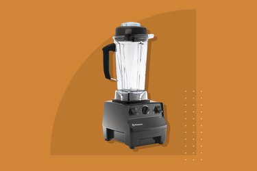 A photo of Vitamix 5200 Blender Professional-Grade, Self-Cleaning