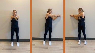 Move 3: Abdominal Twist on a Wall