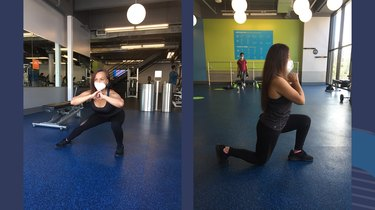 Move 3: Side and Reverse Lunge