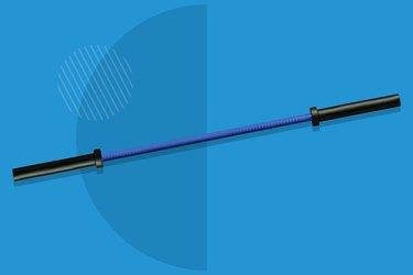 blue Rogue bella bar 2.0 cerakote on blue background