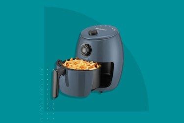 The Elite Gourmet 2.1 Quart Electric Hot Air Fryer