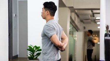 2. Elbow Wrap Stretch