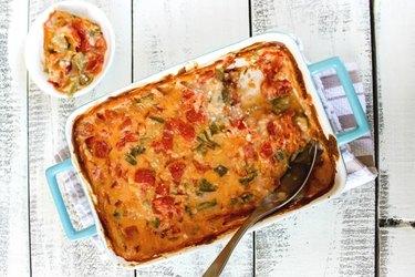Okra and Tomato Casserole
