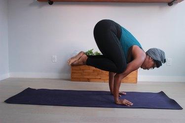 Move 3: Crow Pose (Bakasana)