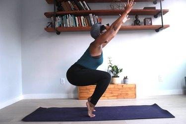 Move 5: Chair Pose Intense (Utkatasana Variation)