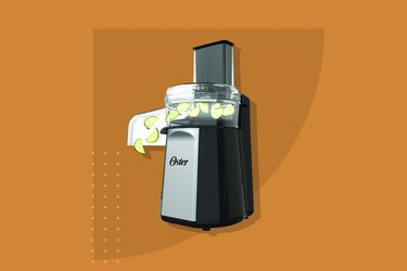 The Oster Oskar 2-in-1 Salad Prep and Food Processor