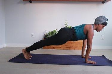 Move 1: Plank Pose