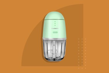 The Wireless Electric Small Food Processor and Portable Mini Food Chopper