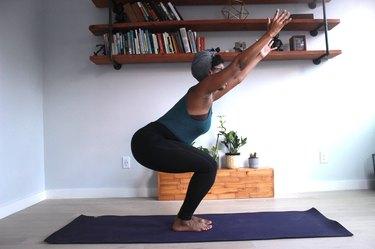 Move 4: Chair Pose (Utkatasana)