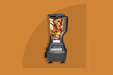The Ninja Mega Kitchen System Blender/Food Processor with Auto-iQ Base