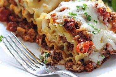 Lasagna Roll Ups bouillon cube recipe
