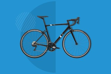 Cannondale CAAD 13 105 road bike on blue background