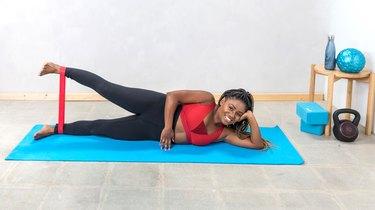 Move 8: Side-Lying Leg Lift
