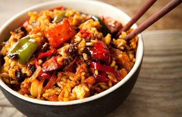 Sticky Chia Fried Rice recipe