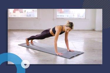 photo of Wundabar Pilates founder Amy Jordan doing full body Pilates workout