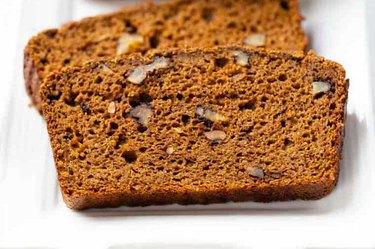 slice of Coconut Flour low-calorie Pumpkin Bread