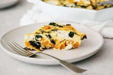 Kale and Butternut Squash Frittata Recipe