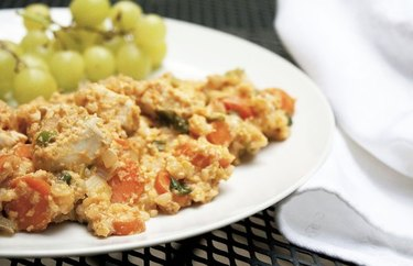 Bali-Inspired Chicken, Egg and Rice chicken breakfast recipes