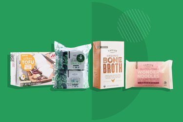 Thrive Market Ramen Night Kit displayed on a green background