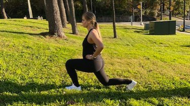 Move 4: Wide Lunge
