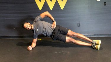 Move 10: Oblique Plank