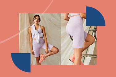 Free People Best Shorts for Indoor Cycling