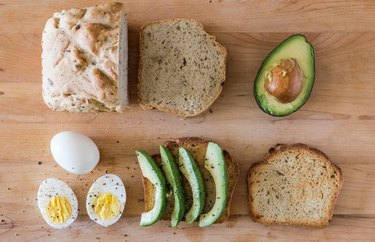 Boiled Egg and Avocado Tartine recipe