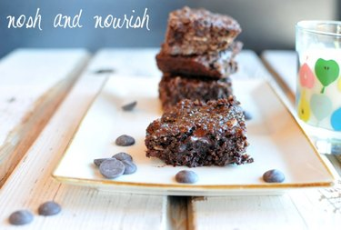 Quinoa Brownies butternut squash dessert recipes