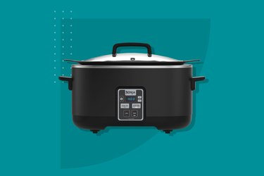 Ninja 6-Quart Slow Cooker with Touchpad Controls and Keep Warm Setting