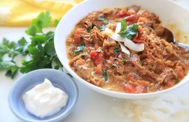 Instant Pot Pulled Pork Coconut Curry